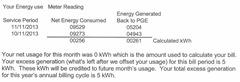 13-2 PGE solar bill