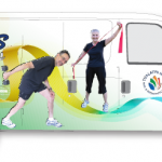 Wellness On Wheels: This Unique, One Of A Kind, Fitness Program Will Come To You