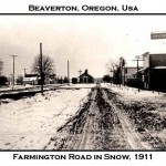 Remembering Beaverton 100 Years Ago