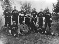 23 1910s Beavers Baseball Team