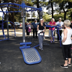 Tualatin Hills Park & Recreation District: connecting people, parks and nature: Outdoor circuit training system is district's first