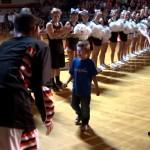 Wish Granted for 5 Year Old Cancer Patient: Elijah Maurer becomes varsity deputy for Beaverton High