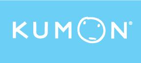 Kumon_LOGO-WH-w-Blue-Background