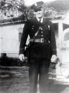 23 Henry Mayfield 1947, Beaverton's Police Chief