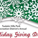 THPRD's Holiday Giving Drive Is Underway, Will Benefit Children and Others in Need
