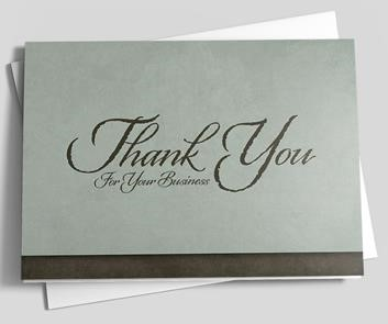 29 thank you card