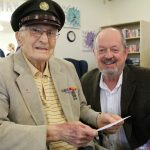 KPTV FOX Channel 12: Happy 98th Birthday Celebration to WWII Veteran Urban Kluthe