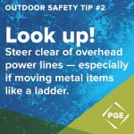 PGE Update: Heading Outside? 8 rules to help keep you safe