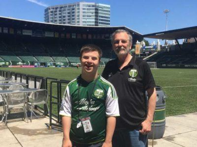 (Dis)abilities + Work + Beaverton = No Problem! Introducing Ryan Guthrie, Employed with the Portland Timbers!