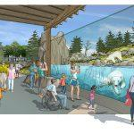 Zoo News is Good News: Zoo sets stage for new Polar Passage, the walls come down