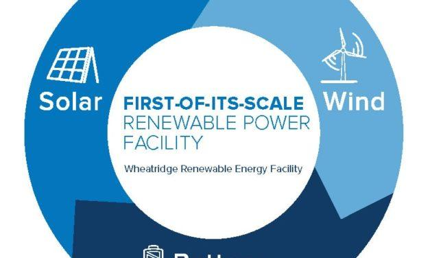 Pacific Gas & Electric: Combining wind, solar and battery storage at the new Wheatridge Renewable Energy Facility