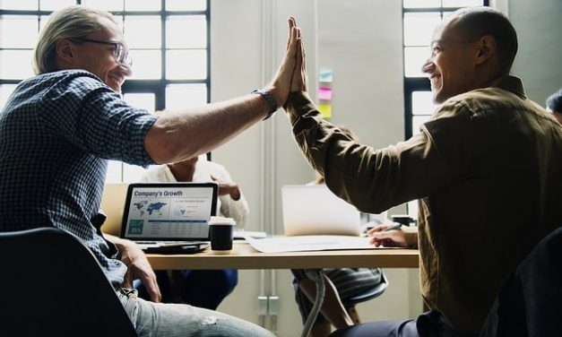 High five your employees and increase their productivity