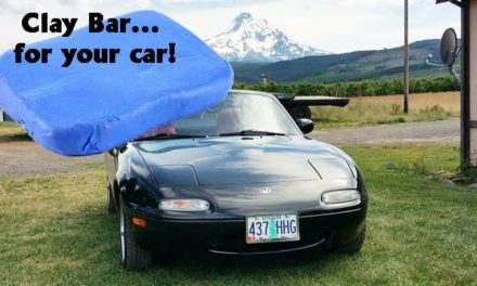 Evaluating the Clay Bar for use on car paint