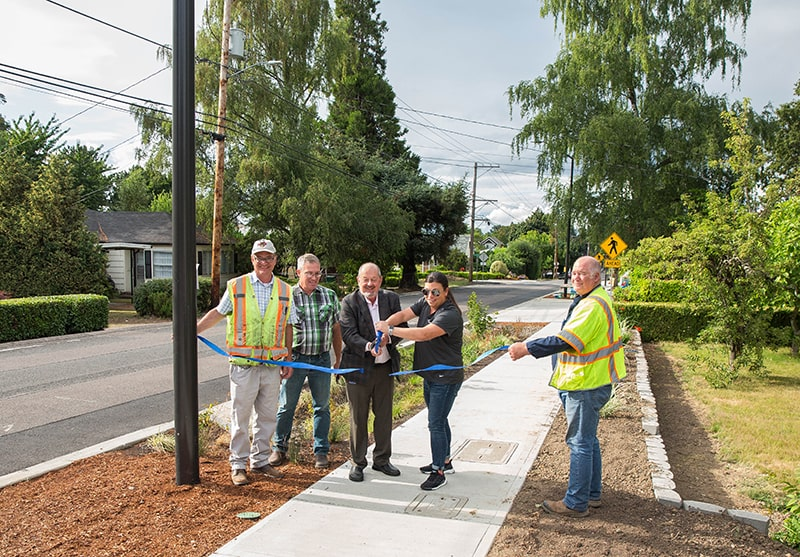Making your neighborhood more walkable! Two projects pedestrians love