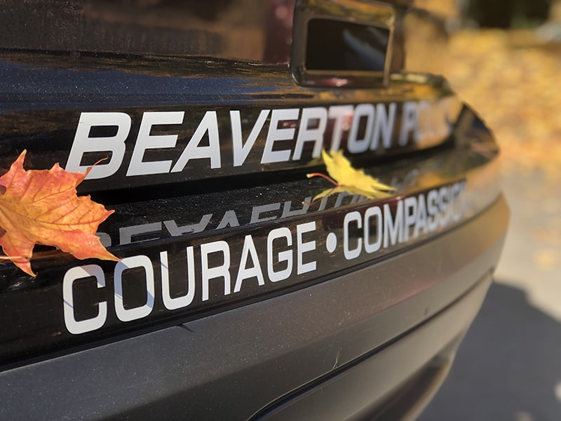 Fall is a busy time for the Beaverton Police Department