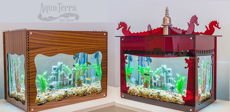 Local engineer turns traditional aquariums into works of art!