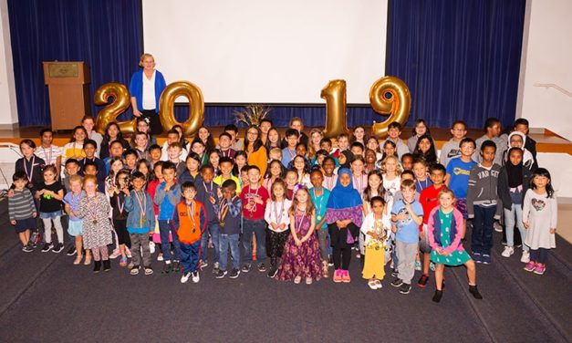Celebrating the Super Kids at the Kumon awards ceremony