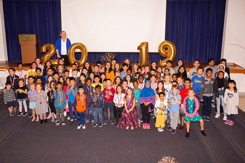 Celebrating the Super Kids at the Kumon awards ceremony