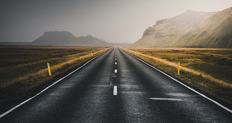 There are no traffic jams on the Extra Mile!