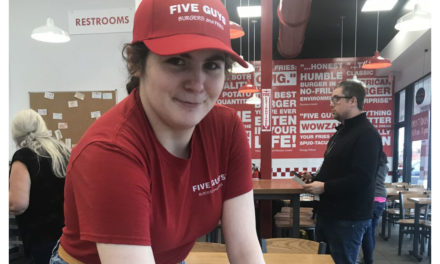 Meet Abby with Five Guys, Celebrating Over Two Years of Dependable Service