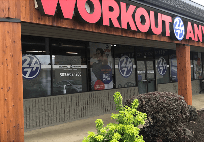 Workout Anytime is a great place to work out… Anytime!
