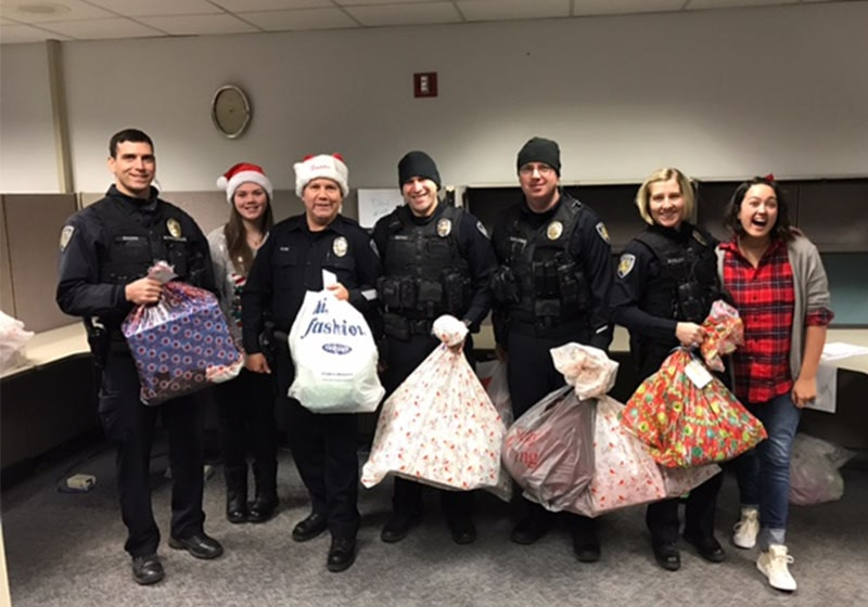 Toy drive success: Beaverton Police Department