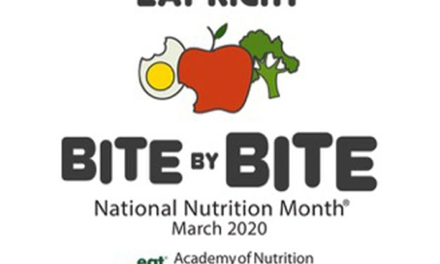 March is National Nutrition Month: Every day is a good day to eat right