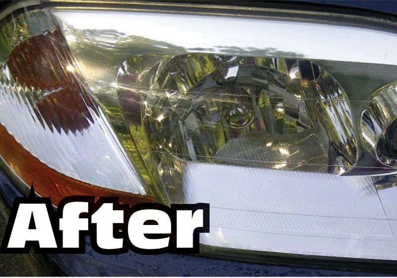 Do you have cloudy headlight covers? Try using a little toothpaste