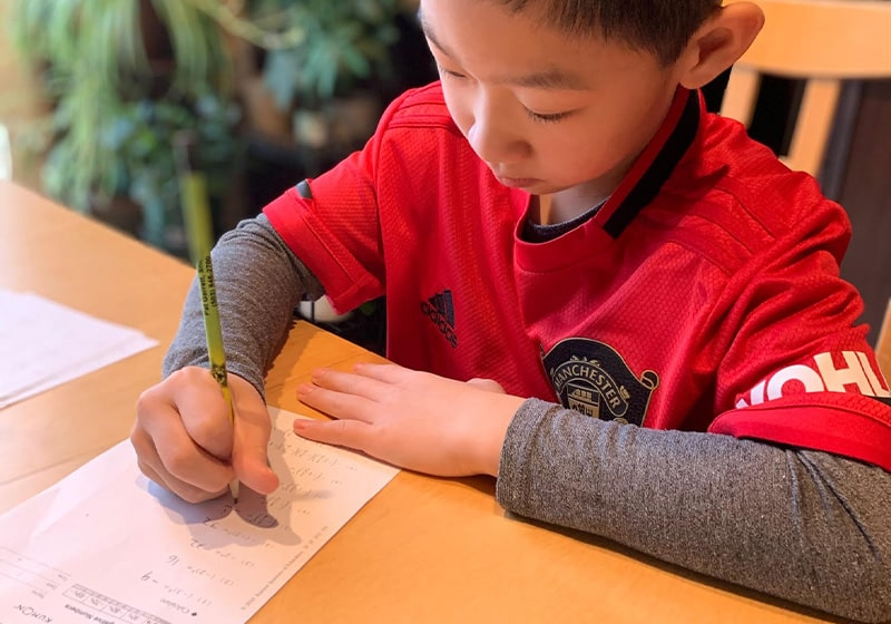Meet Max, a very super student! Thanks to Kumon of South Beaverton