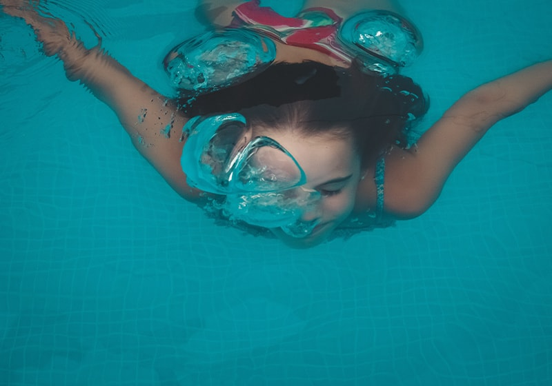 Enjoy the health benefits of swimming, it's never too late to learn