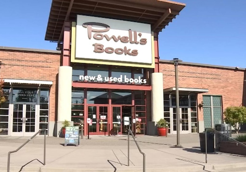 Powell's Books is now open! Wednesday – Sunday, noon – 6pm