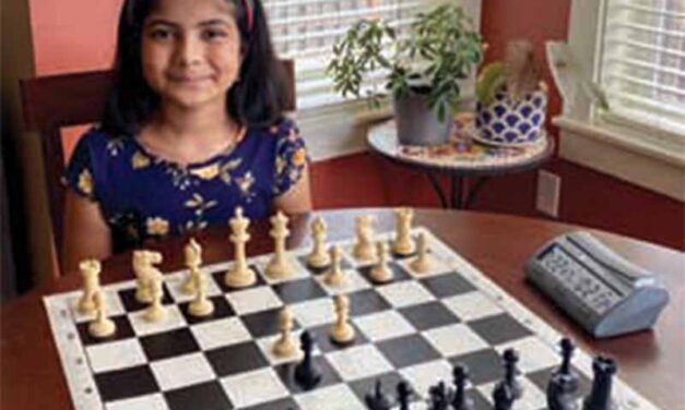 Checkmate! Introducing Isha Marla. Super kids learning a super game