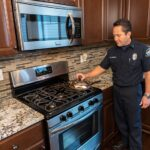 Put a Lid on Cooking Fires by organizing a safe kitchen