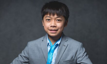 Meet Joseph, a very super student! Thanks to Kumon of South Beaverton