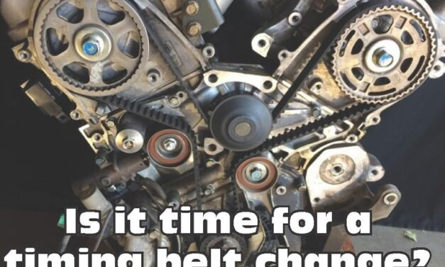 A conversation about timing belts: to replace or not to replace