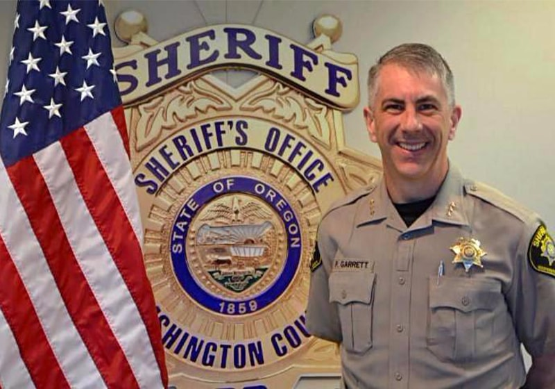 A message from the sheriff