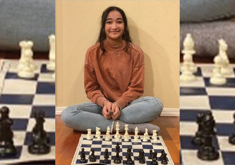 Meet 13-year-old Khyati, a chess student that helps others learn: Super kids learning a super game