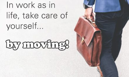 What is your self-care plan? Carve out time to move every day