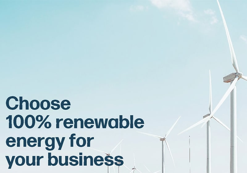 PGE: Choose 100% renewable energy for your business