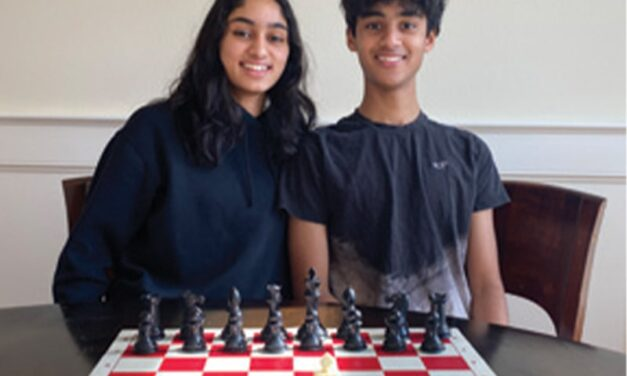 Sibling Chess Buds: their styles of play reflect their personalities