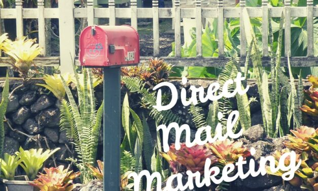 Reaching Your Customers, the Old-Fashioned Way: Through the Mailbox!