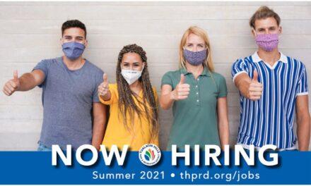 Register for Summer Now / THPRD is Hiring