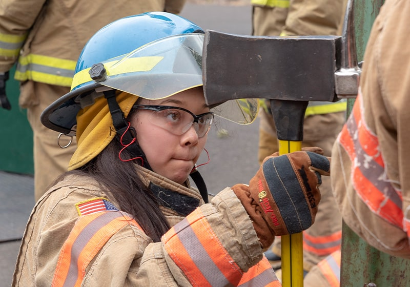 Young women have chance to explore a career as a firefighter – This free camp will be offered twice this summer