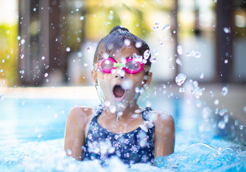 Enjoy the health benefits of swimming – it's never too late to learn
