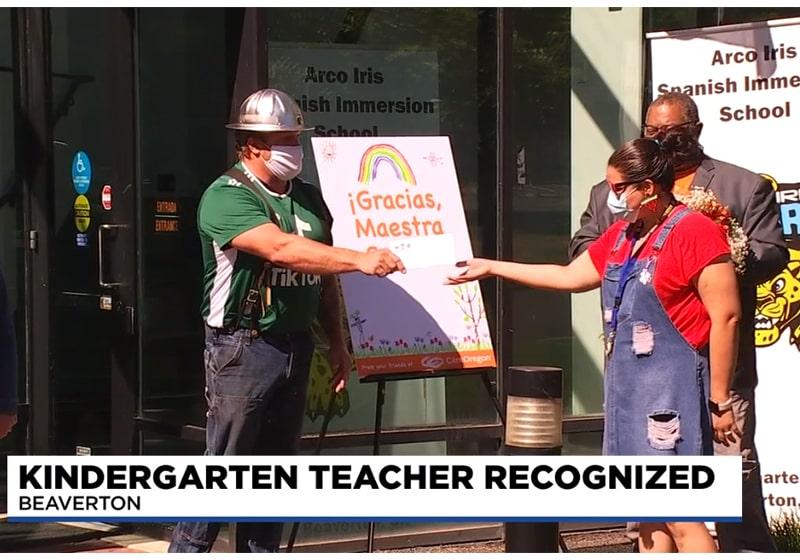 Beaverton teacher receives award: Meet Irene Sester