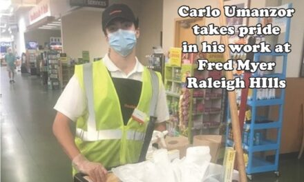 Reliable in Raleigh Hills: Carlo Umanzor takes pride working for Fred Meyer