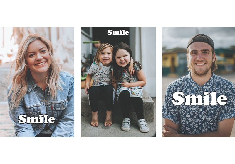 As you go about your day, take the challenge: The Smile Experiment