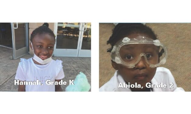Introducing super sisters, Hannah & Abiola! Thanks to Kumon of South Beaverton