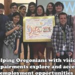 Summer Work Experience Program in partnership with Oregon Commission for the Blind