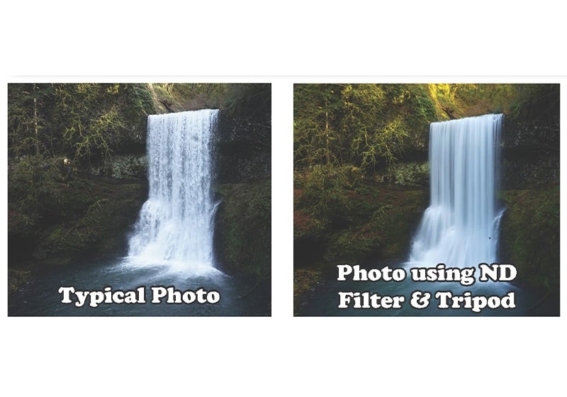 Take stunning photos of waterfalls with only two accessories